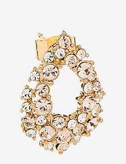 LILY AND ROSE - Petite Alice earrings - Silk - statement earrings - silk - 1