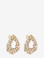 LILY AND ROSE - Petite Alice earrings - Silk - statement earrings - silk - 0