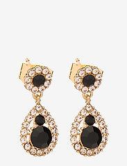 LILY AND ROSE - Petite Sofia earrings - Jet - pendant - jet - 0