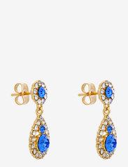 LILY AND ROSE - Petite Sofia earrings - Sapphire - hängande örhängen - sapphire - 1