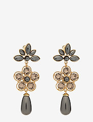 LILY AND ROSE - Aurora pearl earrings - Black pearl - statement - black pearl - 0