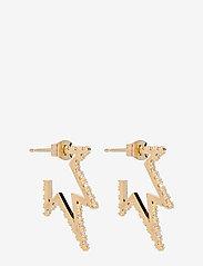 LILY AND ROSE - Petite Vega earrings - Crystal - korvarenkaat - crystal - 1