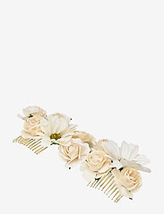 LILY AND ROSE - Rosie hairpiece - Ivory (Créme) - haar accessoires - ivory - 0