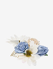 LILY AND ROSE - Petite Rosie hairpiece - Light sapphire - haar accessoires - light sapphire - 0