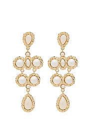 Miss Kate Pearl earrings - Ivory - IVORY
