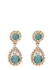 Sofia earrings - Royal green - ROYAL GREEN
