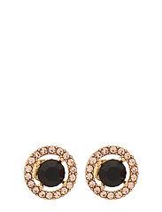 Miss Miranda earrings - Jet (Gold) - JET