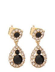 Petite Sofia earrings - Jet - JET