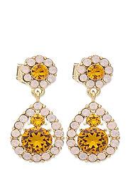 Petite Sofia earrings - Topaz rose - TOPAZ ROSE