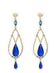 Garbo earrings - Majestic blue - MAJESTIC BLUE