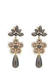 Aurora pearl earrings - Black pearl - BLACK PEARL