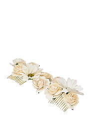 Rosie hairpiece - Ivory (Créme) - IVORY