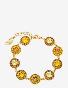 Sofia bracelet - dainty - honeygold