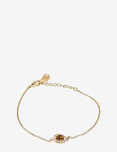 Celeste bracelet - Topaz rose - dainty - topaz rose