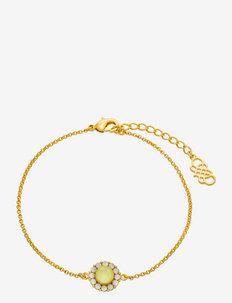 Celeste bracelet - dainty - sugar lemon