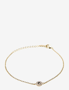 Petite Miss Sofia bracelet - Black diamond - dainty - black diamond