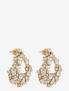 Alice earrings - Crystal - oorhangers - crystal