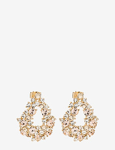 Alice earrings - Light silk - LIGHT SILK