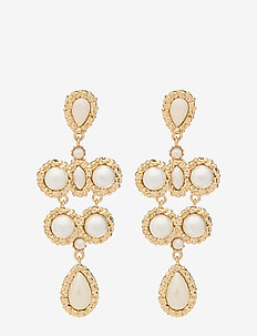 Miss Kate Pearl earrings - Ivory - statement - ivory
