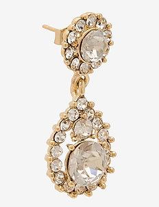 Sofia earrings - Crystal - oorhangers - crystal