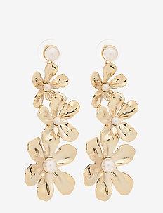 Eponine pearl earrings - Ivory - pendant - ivory