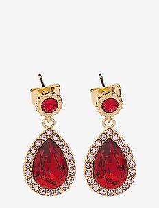 Miss Amy earrings - Scarlet - pendant - scarlet