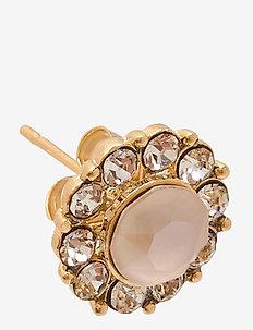 Miss Sofia earrings - Oyster - stud oorbellen - oyster