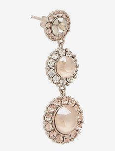Sienna earrings - Oyster - oorhangers - oyster