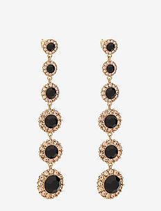 Celeste earrings - Jet - statement - jet