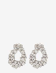 Petite Alice earrings - Crystal - statement oorbellen - crystal