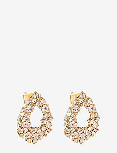 Petite Alice earrings - Silk - statement earrings - silk