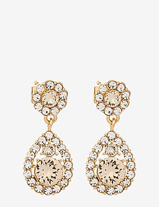 Petite Sofia earrings - Light silk - pendant earrings - light silk