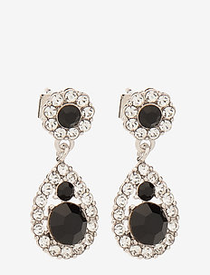 Petite Sofia earrings - Jet - JET