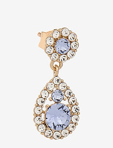 Petite Sofia earrings - Light sapphire (Gold) - pendant - light sapphire