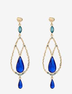 Garbo earrings - Majestic blue - statement - majestic blue