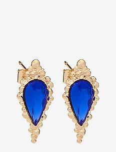 Ethel earrings - Majestic blue - MAJESTIC BLUE