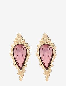 Ethel earrings - Antique pink - pendant - antique pink