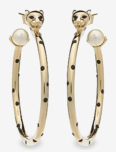 Queen Sheba hoops earrings - Gold - hopen - gold