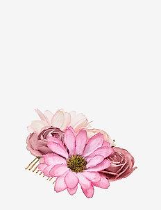 Petite Rosie hairpiece - Vintage rose - VINTAGE ROSE