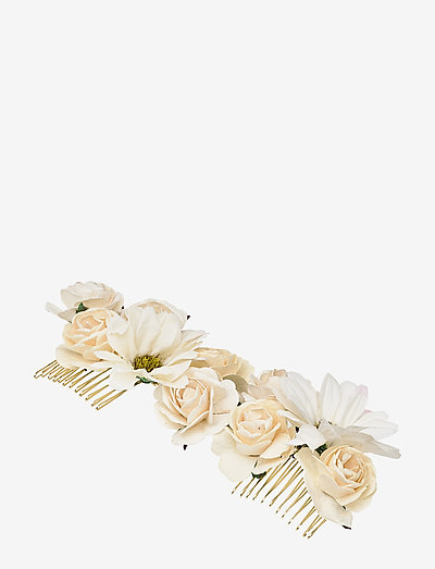 Rosie hairpiece - Ivory (Créme) - haar accessoires - ivory