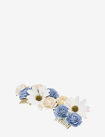 Rosie hairpiece - Light sapphire - haar accessoires - light sapphire