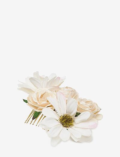 Petite Rosie hairpiece - Ivory (Créme) - haar accessoires - ivory