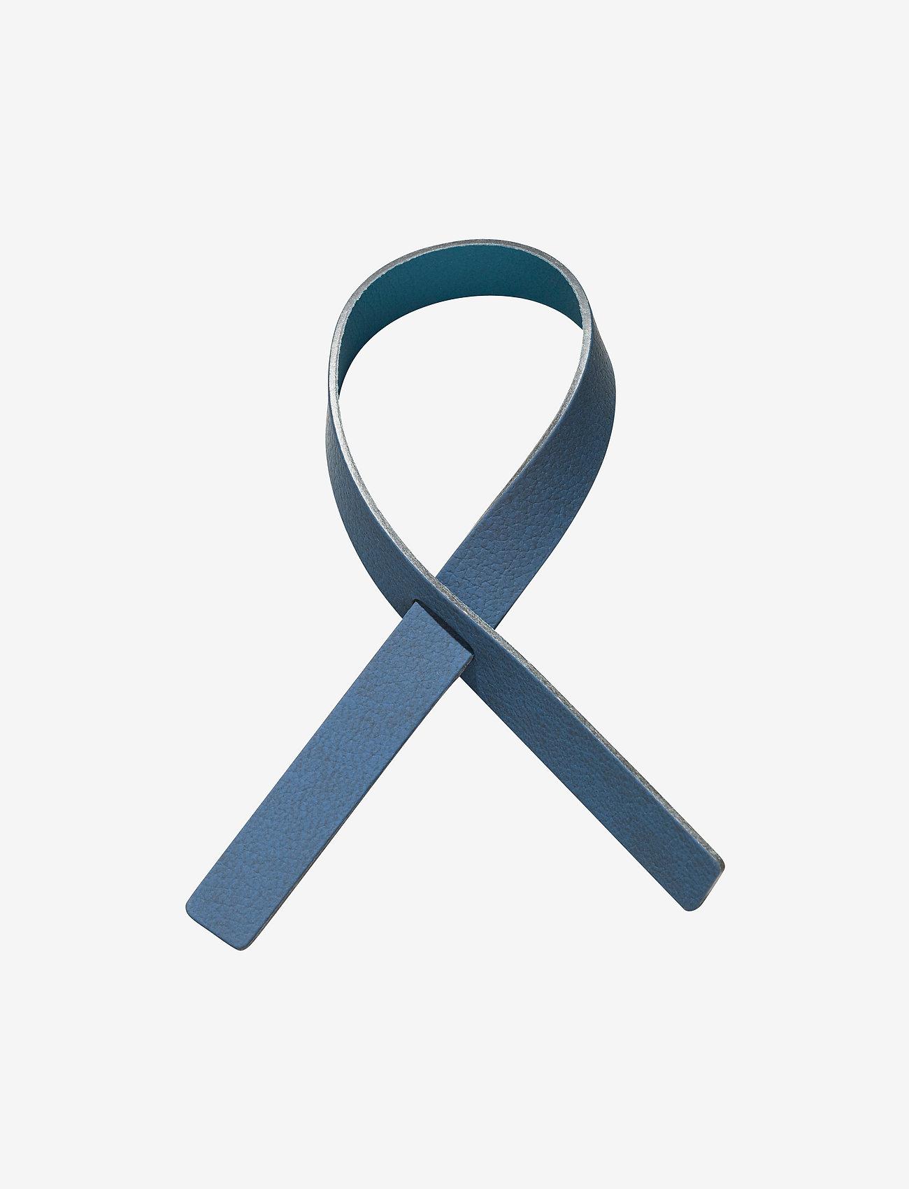 LIND DNA - Loop 4 Pcs. - serviettringer & serviettholdere - midnight blue & petrol - 0