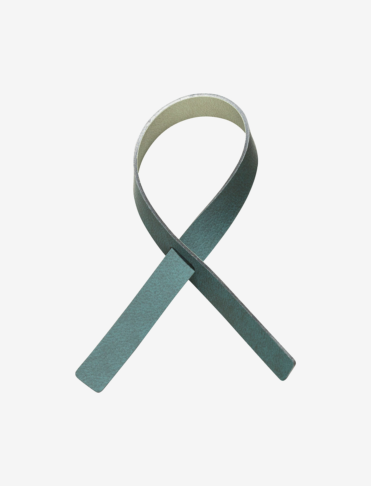 LIND DNA - Loop 4 Pcs. - serviettringer & serviettholdere - dark green & olive green - 0