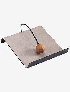 String Napkin Holder - serviettringer & serviettholdere - warm grey/ black/ nature