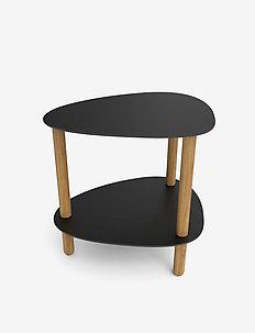 Curve Lounge Table S Bull - bord - black oak nature