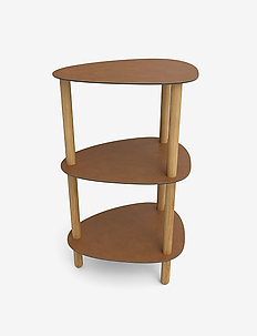 Curve Lounge Table Double S Bull - bord - nature oak nature