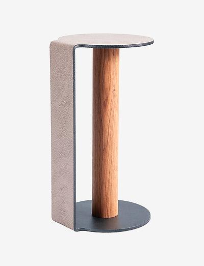 Kitchen Holder L - tørkerullholder - warm grey/anthracite/nature