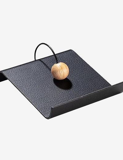String Napkin Holder - serviettringer & serviettholdere - black