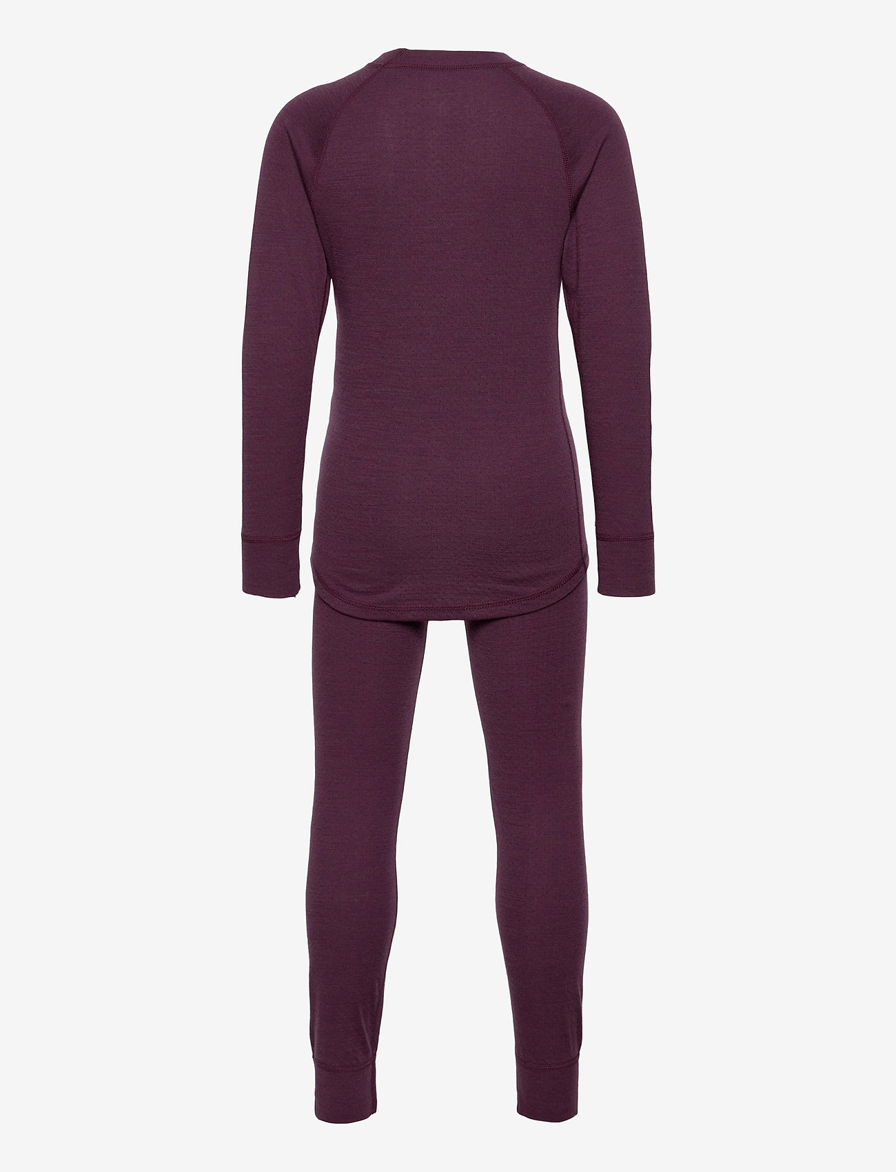 Lindberg Sweden - MERINO SET, JUNIOR - undertøjssæt - plum - 1